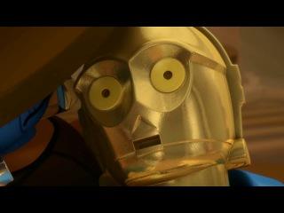 """Лего: Звёздные Войны: Хроники Йоды - 2 эпизод """"Угроза Ситхов"""" [Дубляж от НеваФильм]"""